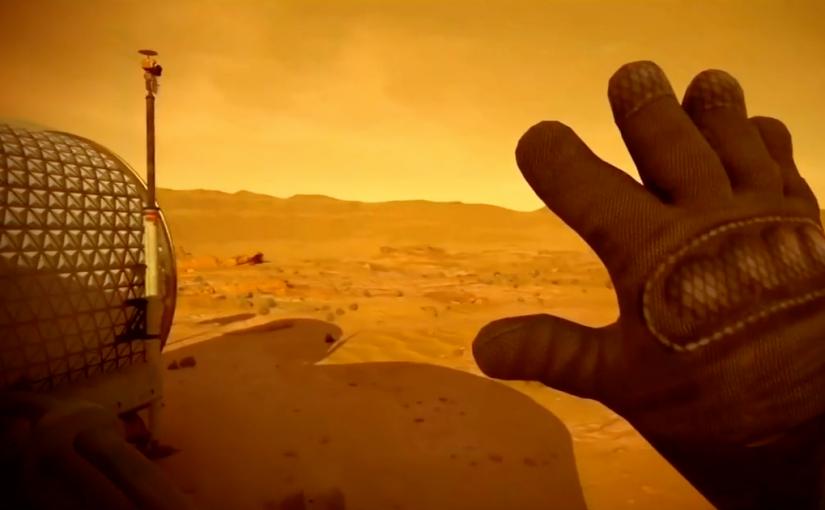 Mars 2030, simulación de una visita a Marte con realidad virtual