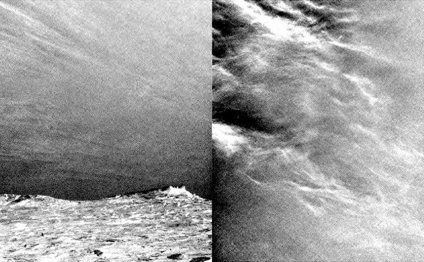 curiosity fotografía las nubes de marte