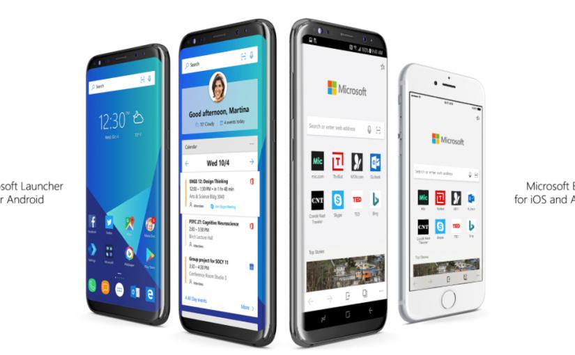 Microsoft Edge Mobile para iOS y Android