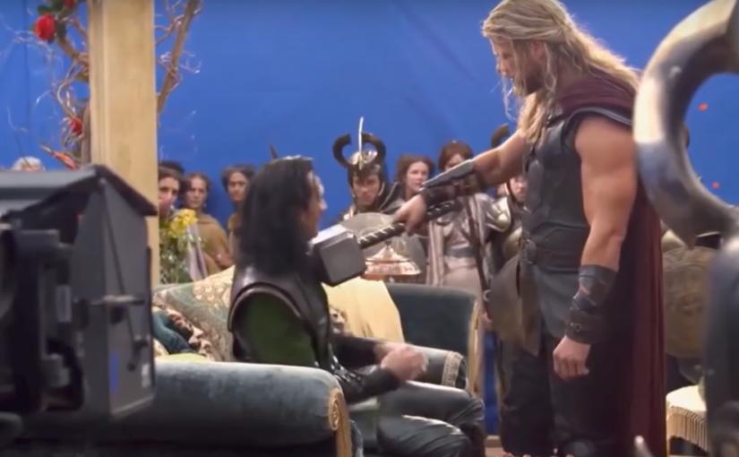 Thor Ragnarok, detrás de escena y bloopers