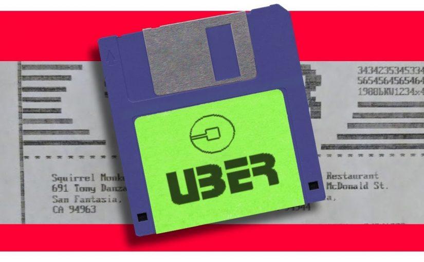 Así sería Uber en los 80's