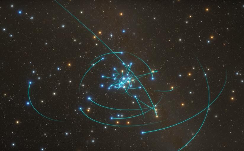 Un viaje al agujero negro que vive en el centro de la vía láctea