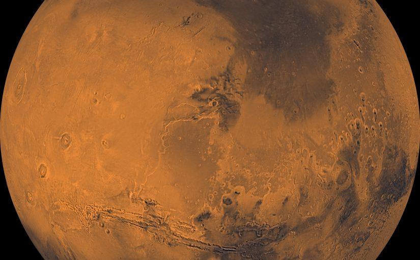 Marte tendría una gran cantidad de oxígeno bajo su superficie