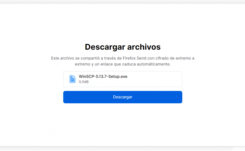 Mozilla Send, ahora disponible para todos
