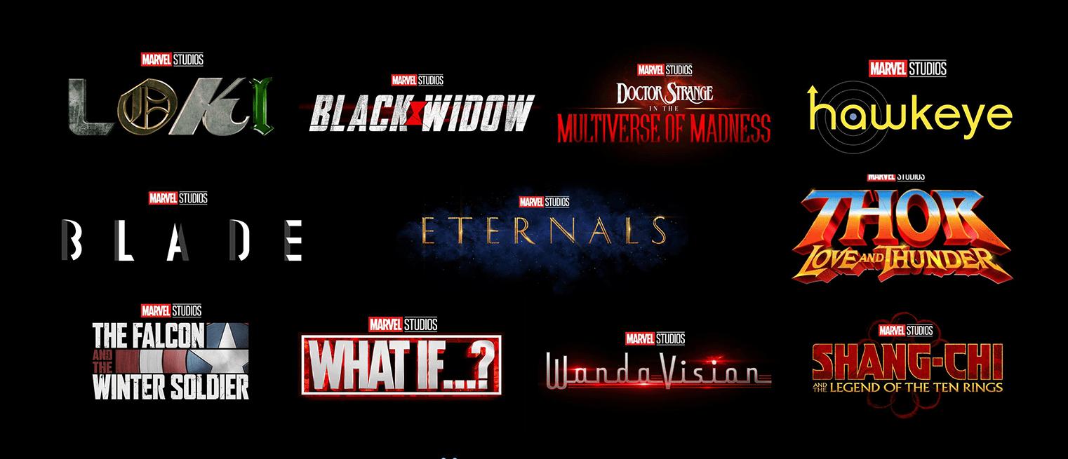 Marvel phase 4 MCU